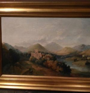 Большая антикварная живопись