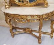 Консоль и зеркало в стиле барокко