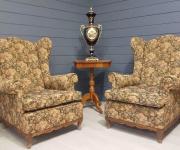 Каминное кресло в стиле Людовика XV (2 шт.)