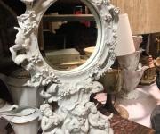 Зеркало настольное будуарное