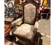 Кресло-трон в стиле ренессанс