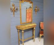 Консоль и зеркало в стиле Людовика XVI