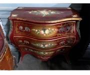 Комод бомбе в стиле Людовика XIV