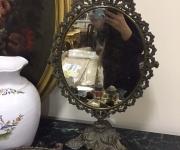 Старинное бронзовое зеркало