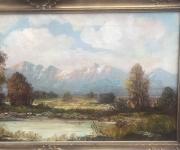Европейский старинный пейзаж