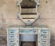 Стол дамский и зеркало в стиле Людовик XV