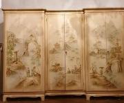 Шкаф платяной в стиле Шинуазри