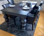 Комплект обеденный: стол и 4 кресла