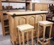 Комплект: Бар/Барная стойка, стул (2 шт.)