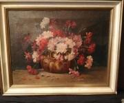 Старинная живопись Цветы