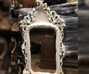 Зеркало настенное винтажное в стиле Людовик XV