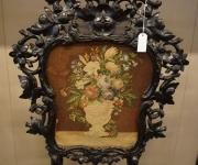 Каминный экран в стиле Людовика XV