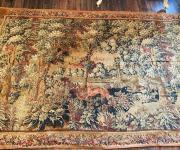 Кресло и пуф в стиле Людовика XV