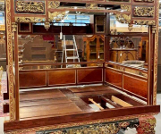 Кровать в восточном стиле