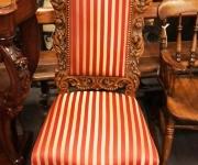 Стул-трон в стиле ренессанс