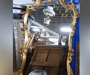 Консоль и зеркало в стиле венецианского Барокко
