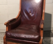 Винтажное кабинетное кресло