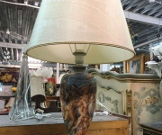 Настольная лампа в стиле барокко