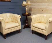 Кресла в стиле Честерфилд (2 шт.)