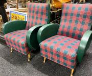 Кресло в стиле ретро (2 шт.)