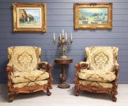 Кресла в стиле барокко (2 шт.)