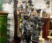 Лампа в стиле барокко