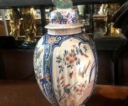 Винтажная ваза с крышкой (2 шт.)