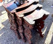 Сет из трёх столиков в восточном стиле