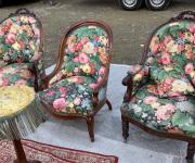 Кресла в стиле шинуазри (3 шт.)