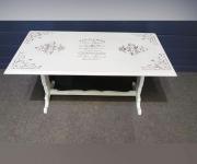 Обеденный комплект: стол и 4 стула