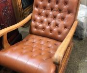 Кресло-качалка в стиле винтаж