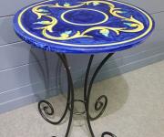Консольный стол в стиле винтаж