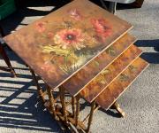 Сет из столиков в стиле эклектика (3 шт.)