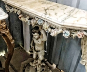 Консоль в стиле венецианского барокко