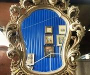 Настенное зеркало винтажное
