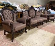 Диван и два кресла в стиле барокко