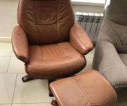 Кресло в стиле честерфилд
