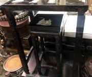 Стол и табурет в стиле шинуазри