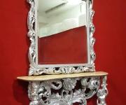 Комплект: консоль и зеркало в стиле барокко