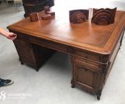 Двусторонний письменный стол в стиле Людовик XV